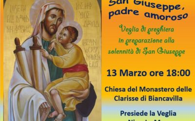 Veglia di preghiera: San Giuseppe, padre amoroso