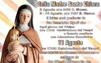 Solennità della Madre Santa Chiara 2021